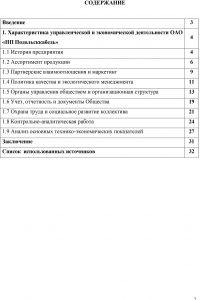 Отчет по практике для студента - образец 2020