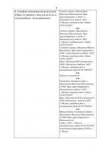 Анкета форма 4 - образец заполнения 2020
